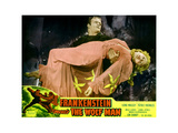 Frankenstein Meets the Wolf Man, Main Image: Gil Perkins (Bela Lugosi's Stunt Double), 1943 Giclée-tryk