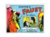 Faust, (Aka, Faust - Eine Deutsche Volkssage, Aka Faust: a German Folk Legend), 1926 Digitálně vytištěná reprodukce