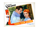 Their Own Desire, from Left, Robert Montgomery, Norma Shearer, 1929 Giclee Print