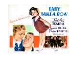 Baby Take a Bow, 1934 Giclée-tryk