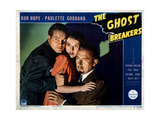 The Ghost Breakers, from Left, Bob Hope, Paulette Goddard, Paul Lukas, 1940 Giclee Print
