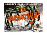 Tarantula, Bottom from Left: John Agar, Mara Corday, 1955 Giclee Print