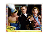 The Great Ziegfeld, from Left, Esther Muir, William Powell, Fanny Brice, 1936 Giclee Print