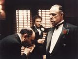 The Godfather, Salvatore Corsitto, James Caan, Marlon Brando, 1972 Foto