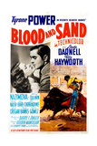 Blood and Sand, from Left, Rita Hayworth, Tyrone Power, 1941 Giclee Print