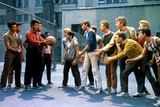 West Side Story, George Chakiris, Russ Tamblyn, David Winters, 1961 Photo