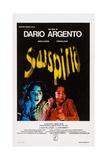 Suspiria, Italian Poster Art, Jessica Harper, 1977 Giclee Print