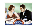 Penthouse, from Left, Myrna Loy, Warner Baxter, 1933 Giclee Print