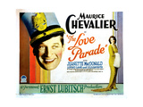 The Love Parade, from Left, Maurice Chevalier, Jeanette Macdonald, 1929 Giclee Print