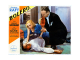 Bolero, from Left, George Raft, Carole Lombard, William Frawley, 1934 Giclee Print