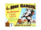 The Lone Ranger, Lee Powell, 1938 Giclee Print