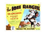 The Lone Ranger, Lee Powell, 1938 Giclee Print