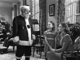 Miracle on 34th Street, Edmund Gwenn, Natalie Wood, Maureen O'Hara, 1947 Photo