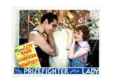 The Prizefighter and the Lady, from Left, Max Baer, Myrna Loy, 1933 Giclee Print