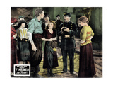 7th Heaven, (AKA Seventh Heaven), from Left, Charles Farrell, Janet Gaynor, Gladys Brockwell, 1927 Giclee Print