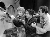 A Night at the Opera, from Left: Harpo Marx, Chico Marx, Allan Jones, 1935 Photo