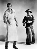 The Man Who Shot Liberty Valance, James Stewart, John Wayne, 1962 Photo