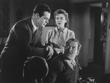 On Dangerous Ground, from Left: Robert Ryan, Ida Lupino, Ward Bond, 1952 Photo