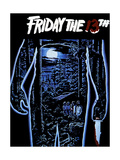 Friday the 13Th, 1980 Giclée-Druck