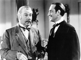 The Adventures of Sherlock Holmes, from Left: Nigel Bruce, Basil Rathbone, 1939 Photo