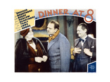 Dinner at Eight, (AKA Dinner at 8), 1933 Giclee Print