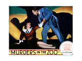 Murders in the Zoo, from Left, Kathleen Burke, Lionel Atwill, 1933 Giclee Print