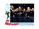 The Great Mcginty, from Left, Allyn Joslyn, Brian Donlevy, Muriel Angelus, William Demarest, 1940 Giclee Print