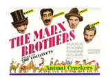 Animal Crackers, the Marx Brothers-Top L-R: Harpo Marx, Groucho Marx, Chico Marx, Zeppo Marx, 1930 Giclée-tryk