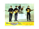 Help, from Left:Paul Mccartney, George Harrison, Ringo Starr, John Lennon, 1965 Giclée-tryk