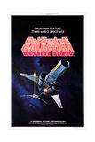 Battlestar Galactica, 1978 Reproduction procédé giclée