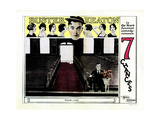 Seven Chances, Buster Keaton, 1925 Giclee Print