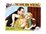 She Done Him Wrong, from Left, Owen Moore, Mae West, 1933 Giclee Print