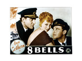 Eight Bells, (AKA 8 Bells), from Left, John Buckler, Ann Sothern, Ralph Bellamy, 1935 Giclée-tryk