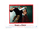East of Eden, from Left, Richard Davalos, James Dean, Julie Harris, 1955 Giclee Print