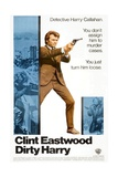 Dirty Harry, Clint Eastwood, 1971 Giclee Print