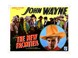 The New Frontier, John Wayne, 1935 Giclee Print