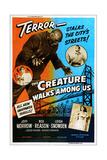 The Creature Walks Among Us, 1956 Digitálně vytištěná reprodukce