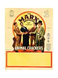 Animal Crackers, 1930 Giclee Print