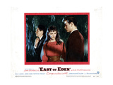 East of Eden, from Left, James Dean, Julie Harris, Richard Davalos, 1955 Giclee Print