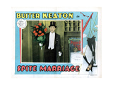 Spite Marriage, Buster Keaton, 1929 Giclee Print