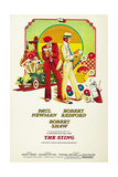 The Sting, from Left Center: Robert Redford, Paul Newman, Robert Shaw, 1973 Giclee Print