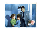 Gentleman's Agreement, from Left, Dorothy Mcguire, Dean Stockwell, Gregory Peck, 1947 Giclée-tryk