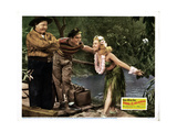 Song of the Islands, from Right: Betty Grable, Victor Mature, Jack Oakie, 1942 Giclee Print