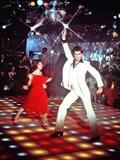 Saturday Night Fever, Karen Lynn Gorney, John Travolta, 1977 Photo