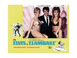 Clambake, Suzie Kaye, Elvis Presley, 1967 Giclee Print