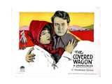 The Covered Wagon, from Left, Lois Wilson, J. Warren Kerrigan, 1923 Giclee Print