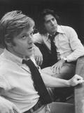 All the President's Men, from Left: Robert Redford, Dustin Hoffman, 1976 Photo
