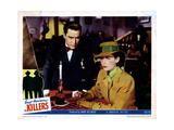 The Killers, from Left, Edmond O'Brien, Ava Gardner, 1946 Giclee Print