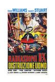 The Incredible Shrinking Man (AKA Radiazioni B-X Distruzione Uomo), 1957 Giclee Print