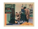 The Kennel Murder Case, William Powell, (Kneeling, Left), Robert Mcwade, (Right), 1933 Giclee Print